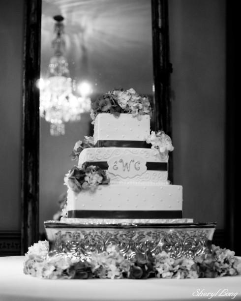 Watson-Sanders Wedding Cake 1